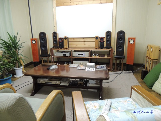 弊社 試聴室 「audio room」