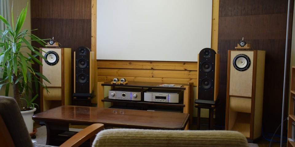 試聴室「audio room」